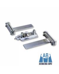 Кронштейн для секционных ворот с пружинодержателем 40 мм.