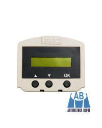 Дисплей - программатор съемный для FAAC А100/А140