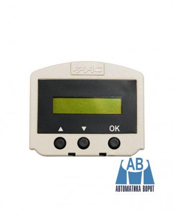Купить Дисплей - программатор съемный для FAAC А100/А140 в интернет-магазине Avtomatic24.ru