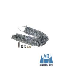 Цепь - удлинитель для лебедки осевого привода FAAC, 8 м