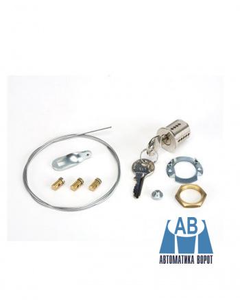 Купить Замок дистанционной разблокировки потолочного привода с ключом №1 FAAC в интернет-магазине Avtomatic24.ru