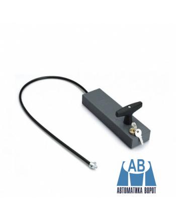 Купить Ручка для разблокировки привода с ключом и тросом для CAME C100, CBY в интернет-магазине Avtomatic24.ru