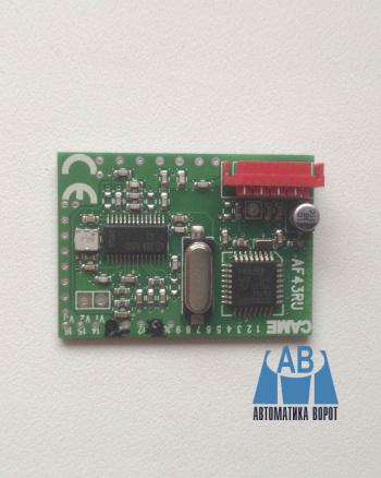 Купить Радиоприемник CAME встраиваемый AF43RU в интернет-магазине Avtomatic24.ru